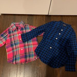 Polo by Ralph Lauren Sweater and Shirts